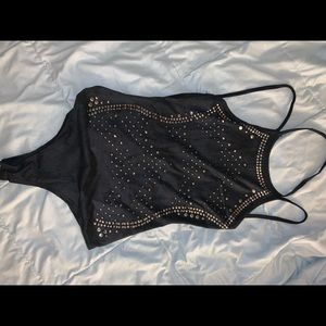 Windsor black body suit small